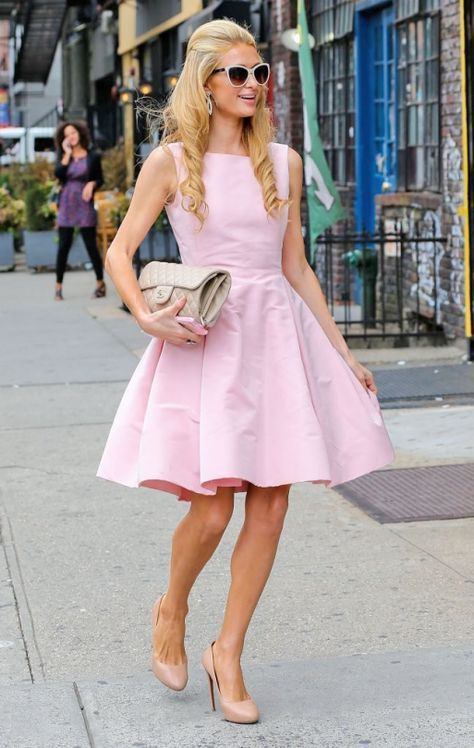 paris hilton pink blush