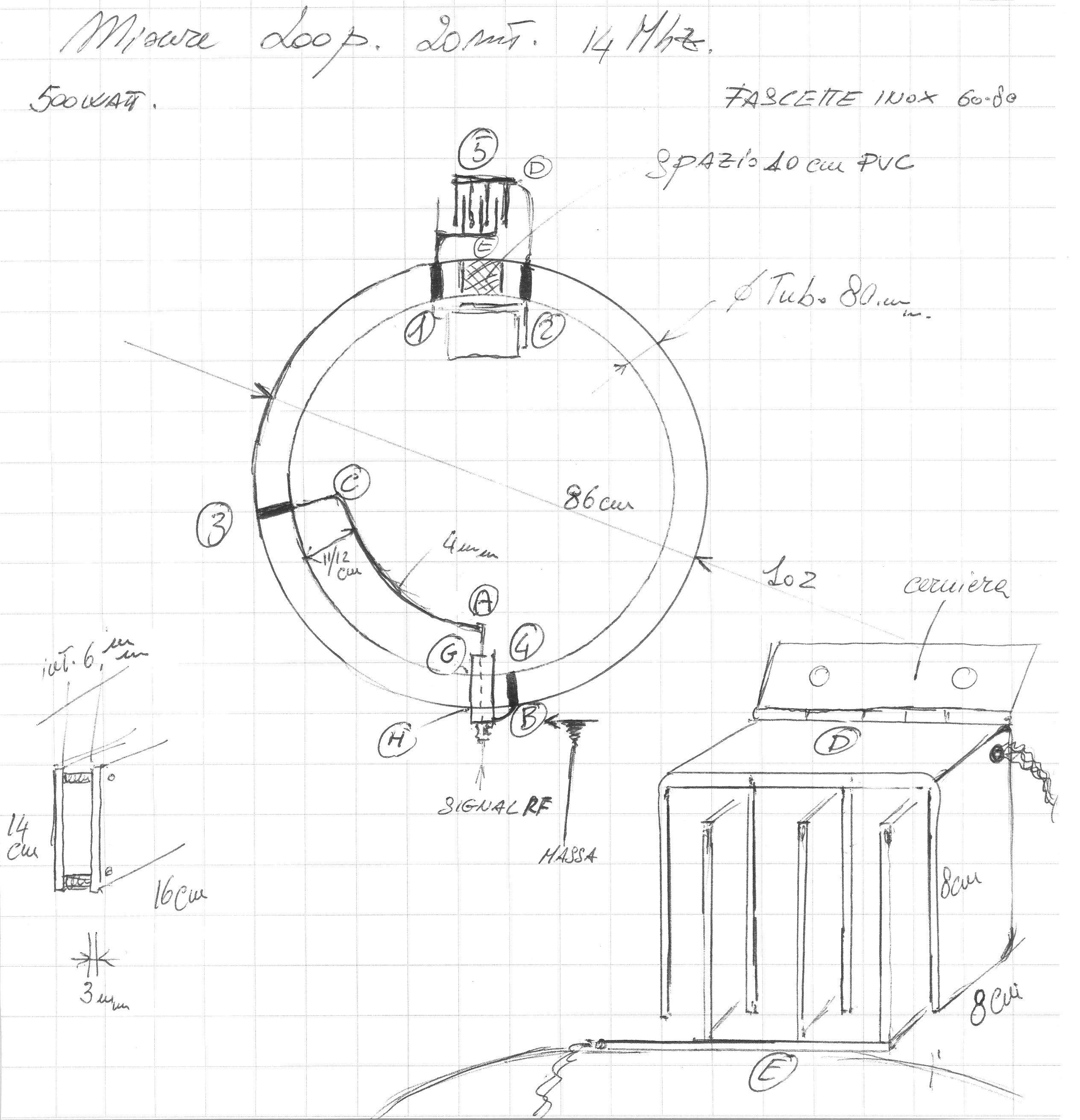 Costruzione Di Un Antenna Loop Magnetica