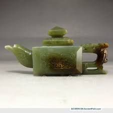 Image result for hetian jade teapot