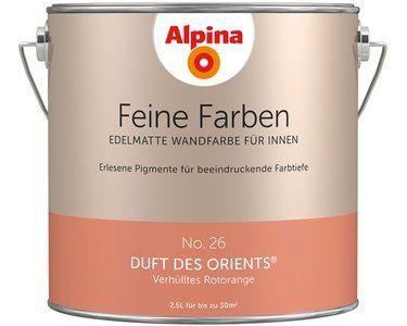 Alpina Feine Farben No. 26 Duft des Orients edelmatt 2,5 l #alpinafeinefarben
