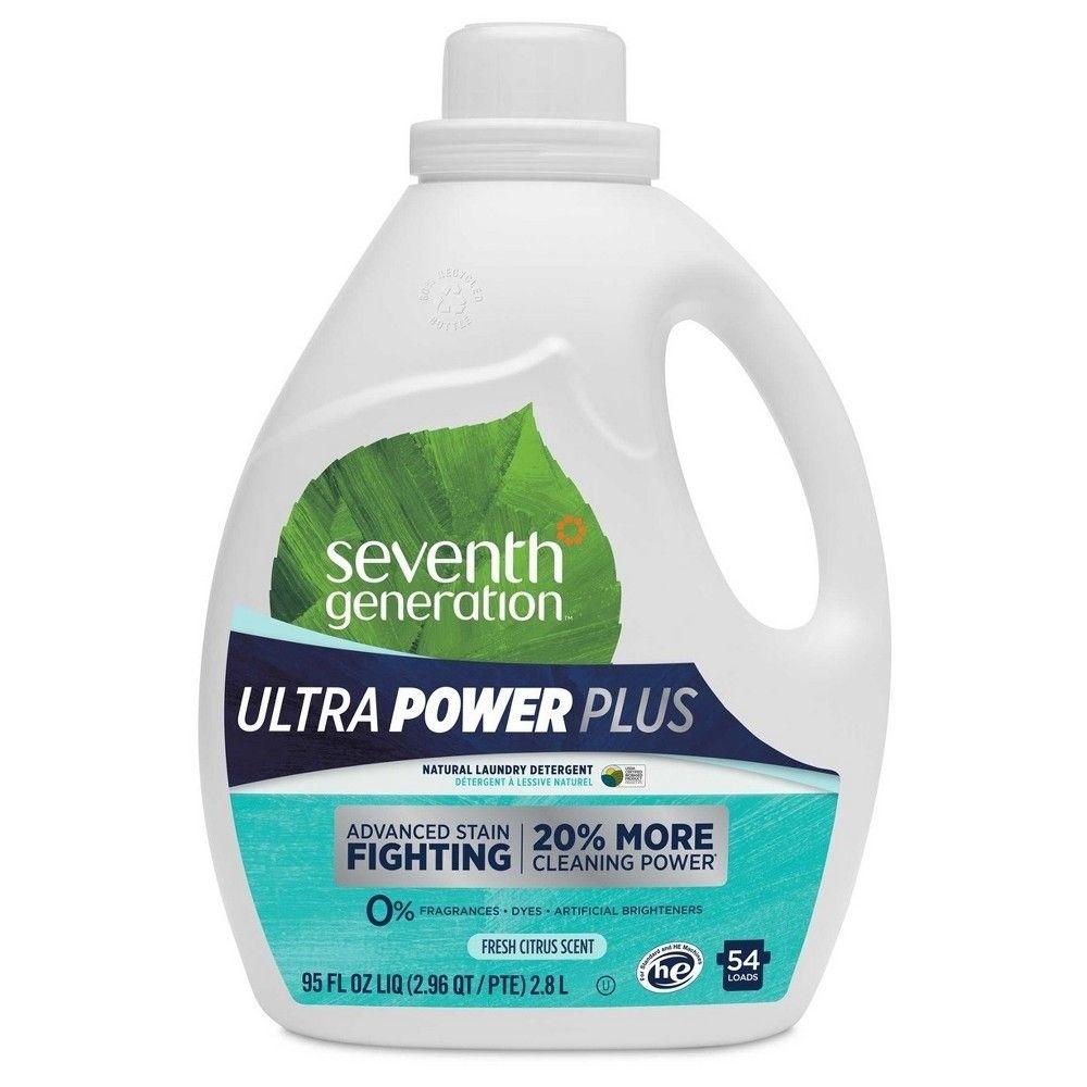 Seventh Generation Fresh Scent Ultra Power Plus Liquid Laundry