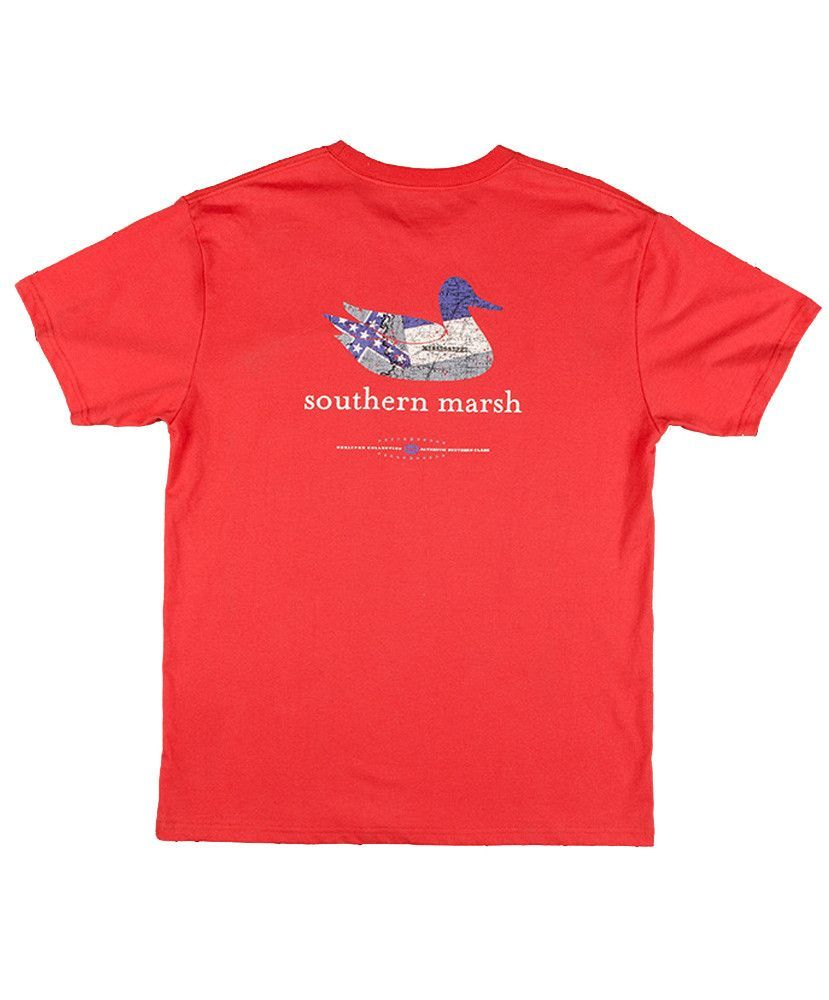 Southern Marsh - Authentic Heritage: Mississippi Short Sleeve Tee