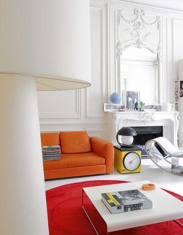 Décorer un appartement avec de la couleur Immaculé, Salon et Couleurs