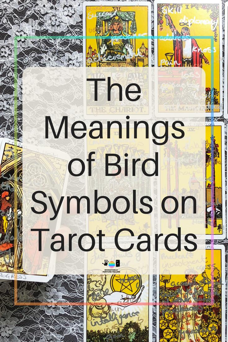 Meanings Of Bird Symbols On Tarot Cards Tarot Pinterest