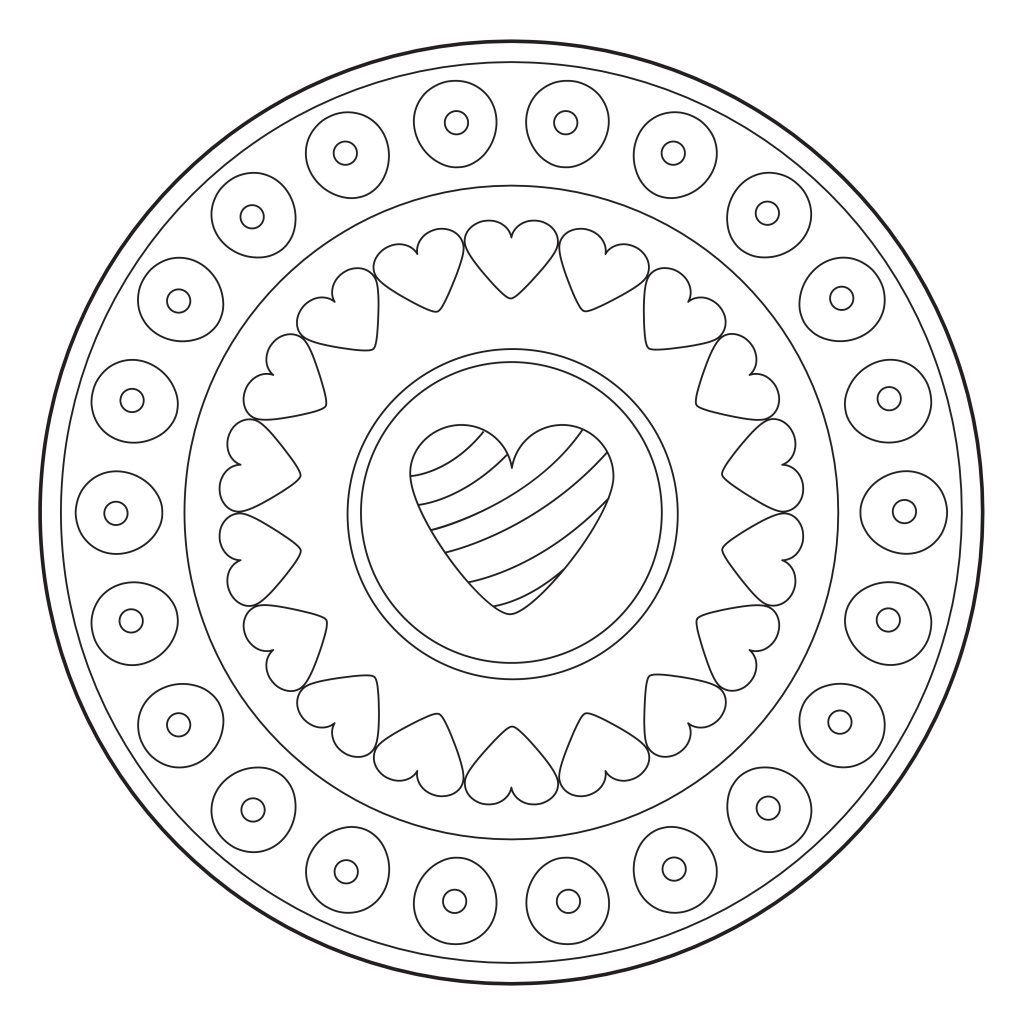 Mandalas terapeuticos para niños   Mandalas, Mandalas para ...