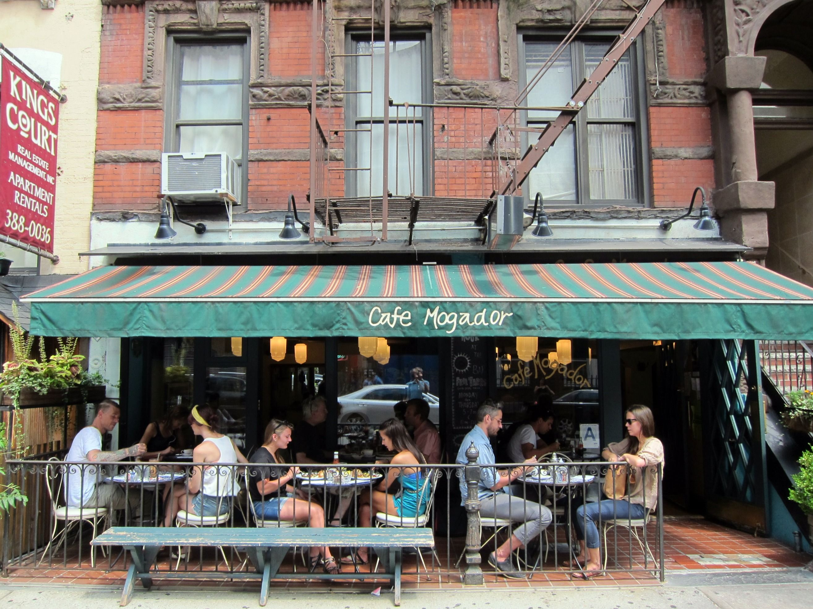 Cafe Mogador Moroccan Mediterranean Cuisine 101 St Marks Pl New York Ny