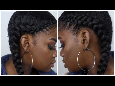 Two Braid Tutorial With Weave Braids With Weave Two Braids With Weave French Braid With Weave
