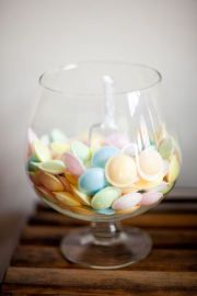 wedding candy dish flying saucers