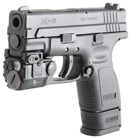Springfield xd 9mm with laser