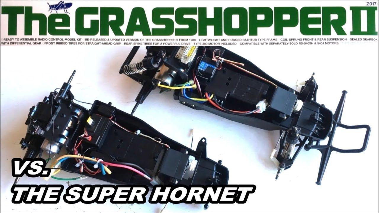 Building The New Tamiya Grasshopper Ii 2017 Re Release 58643 Part 2 S Tamiya Grasshopper Rc Model