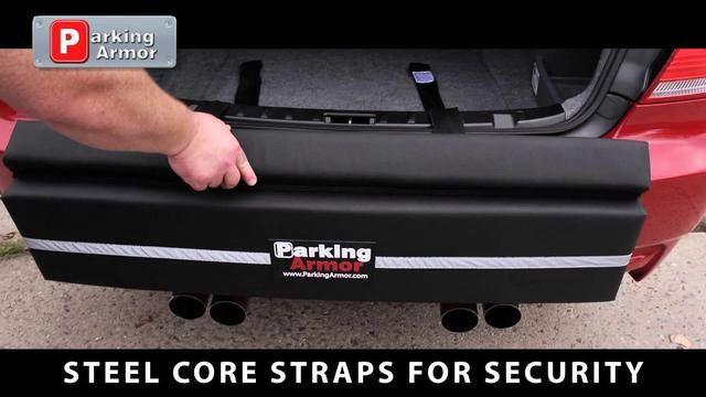 Parking Armor Rear Bumper Protector Ulimate Bumper Protection And Bumper Guard Parking Armor Is The Ultim Rear Bumper Protector Bumper Protection Car Bumper
