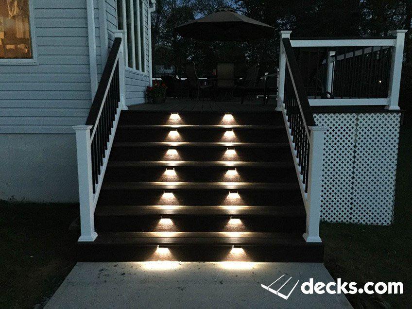 Decks Com Deck Lighting Ideas Deck Lighting Deck Plans Deck Builders