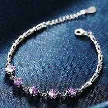 T400 Jewelers - Sterling Silver CZ Bracelet