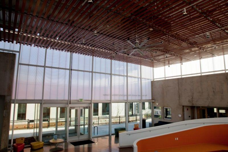 duo gard vertical daylighting henderson hopkins school interior