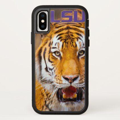 LSU Tiger iPhone X Case - Xmas ChristmasEve Christmas Eve Christmas merry xmas family kids gifts holidays Santa