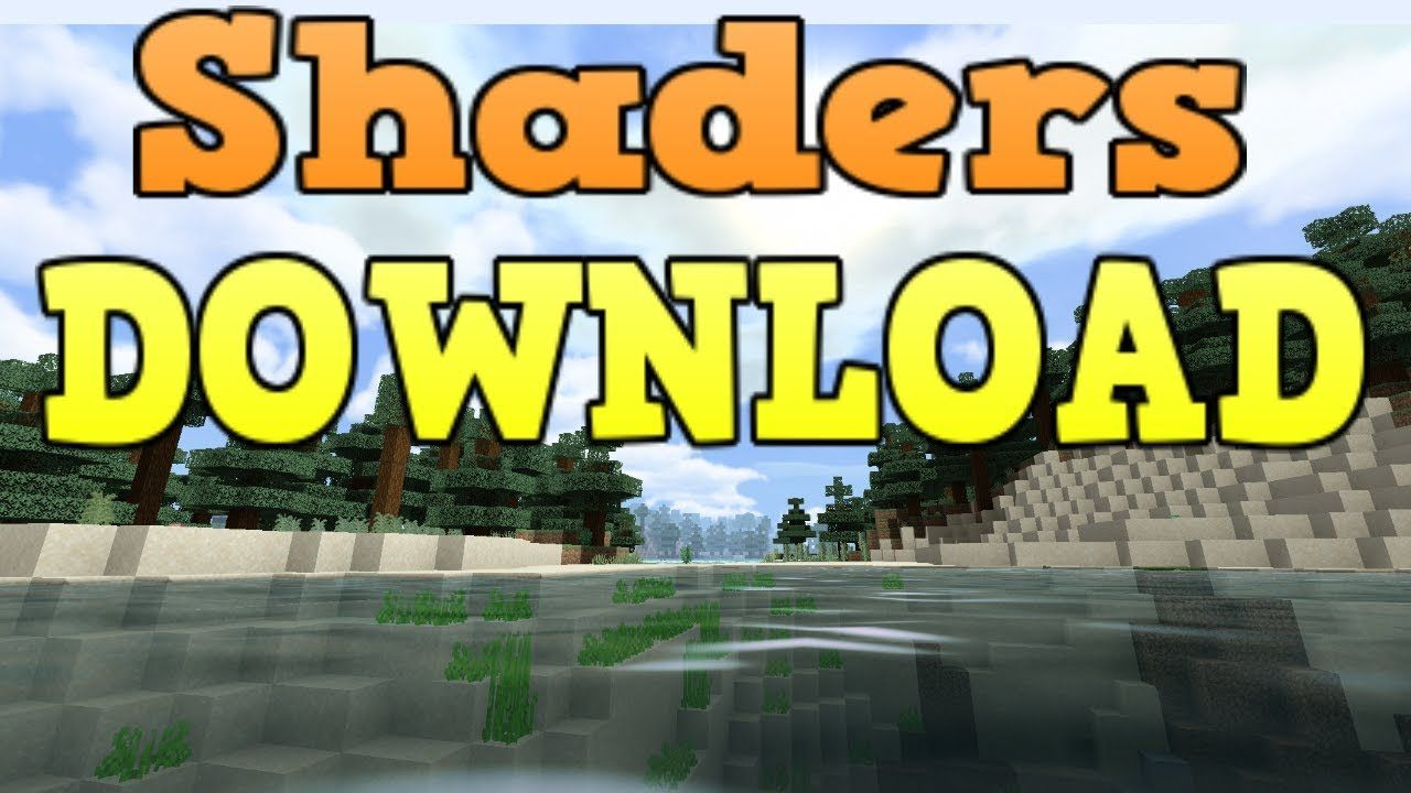 Minecraft Bedrock Edition Shaders Download YouTube in