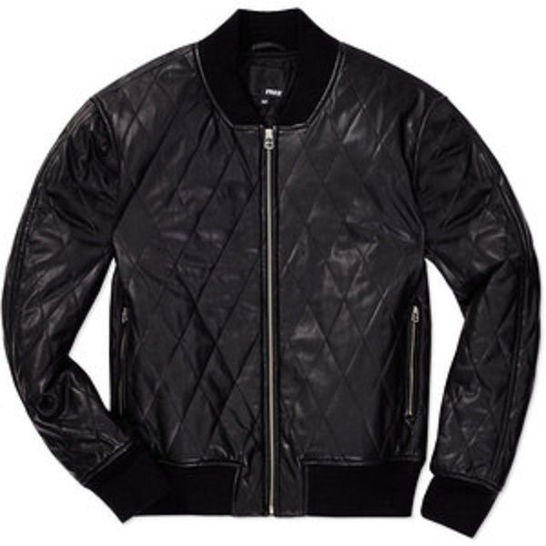 424c2d6ff $250 ARITZIA Wilfred Free Luss Bomber Jacket Quilted Vegan Leather ...