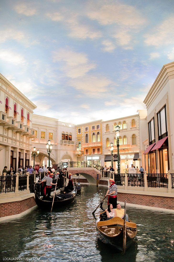 Next Best Thing To Venice Italy The Venetian Gondola Ride Las Vegas Localadventurer