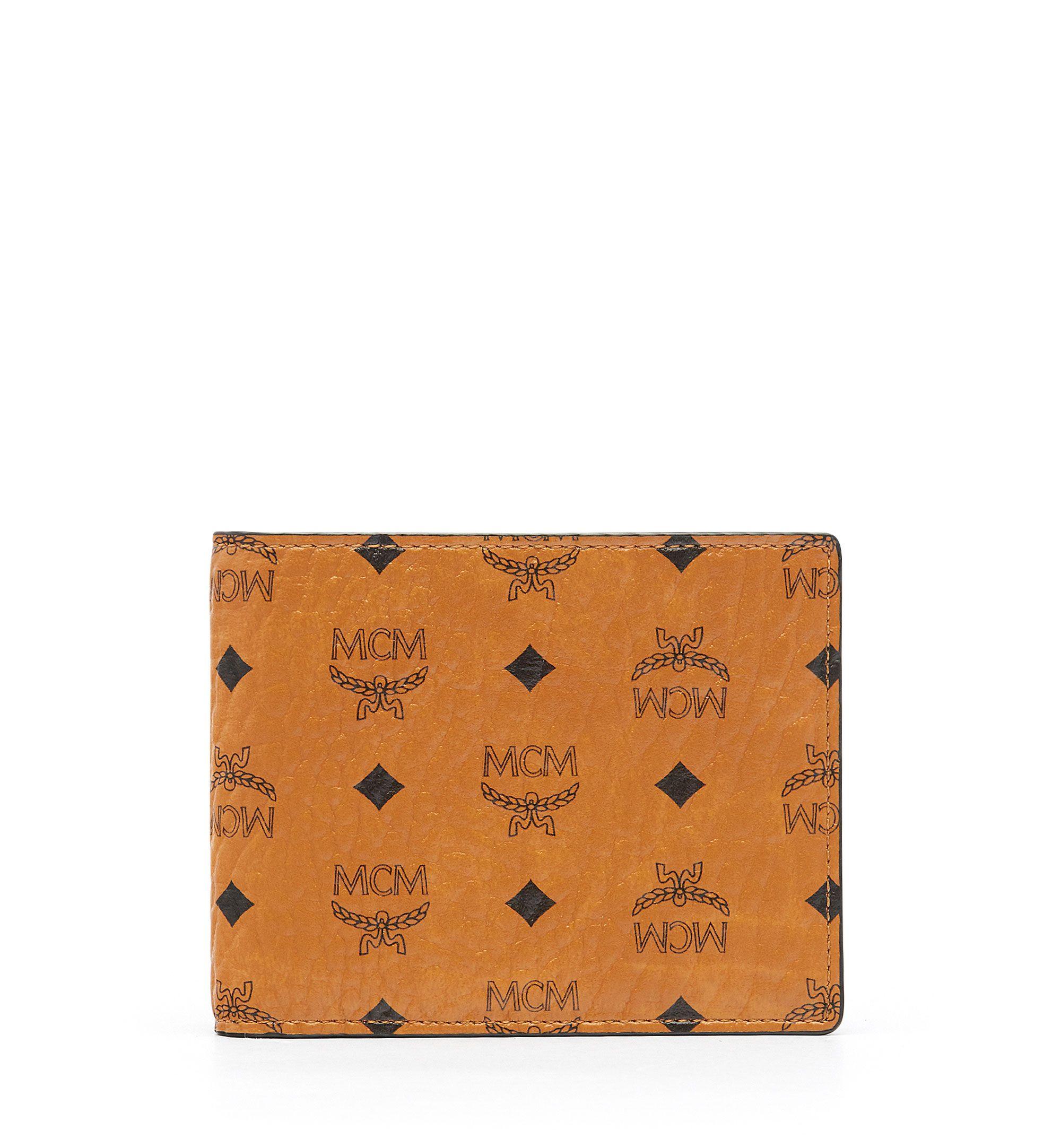 6483c332fa74 MCM CLAUS BIFOLD WALLET WITH CARD CASE IN VISETOS. #mcm # | Mcm Men ...