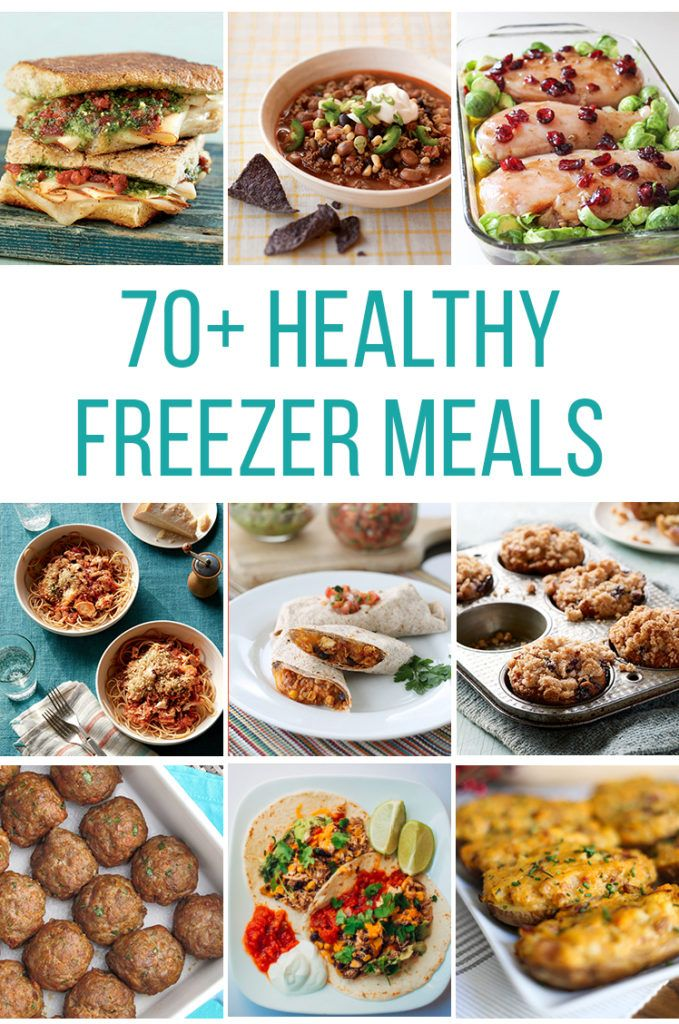 Top 70+ Healthy Freezer Meals (Best of the Best by Category!)