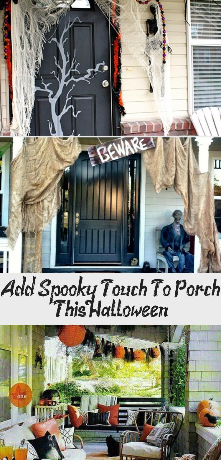 2020 Halloween Classic At The Gate Add Spooky Touch To Porch This Halloween   Decoration in 2020
