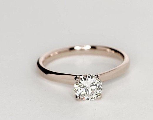 0 59 Carat Diamond Monique Lhuillier Amour Solitaire Engagement Ring Recently Purchase Wedding Rings Simple Wedding Rings Solitaire Solitaire Engagement Ring