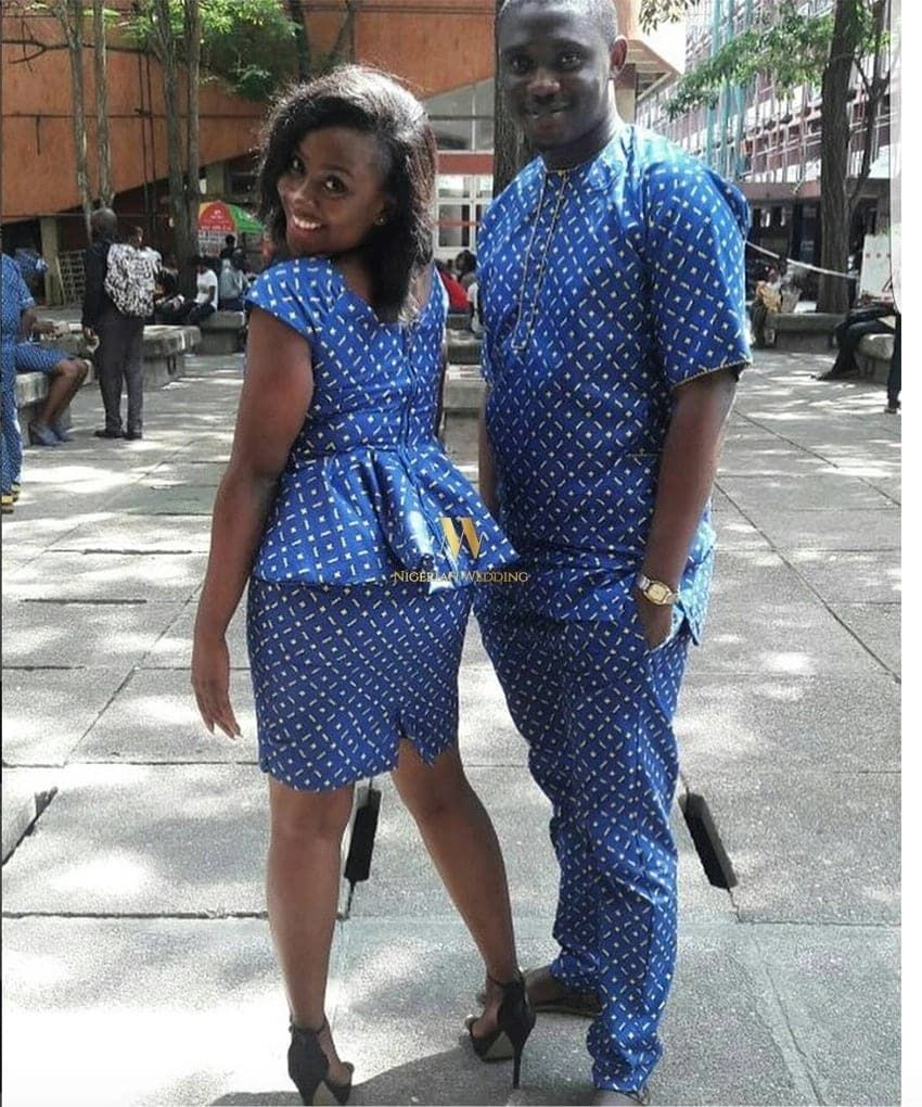 African Couples Kitenge Dresses 2019 Latest African Fashion Dresses African Clothing African Fashion Designers