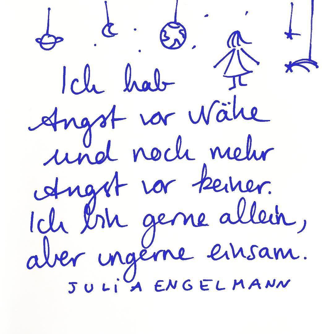 Julia Engelmann On Instagram Kein Sonderlich Exklusiver Gedanke Nehm Ich An Aus Meinem Neuen B Worte Zitate Schone Spruche Zitate Zitate Aus Buchern