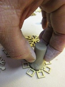 lots of handmade clay stamp ideas from Gary Jackson.