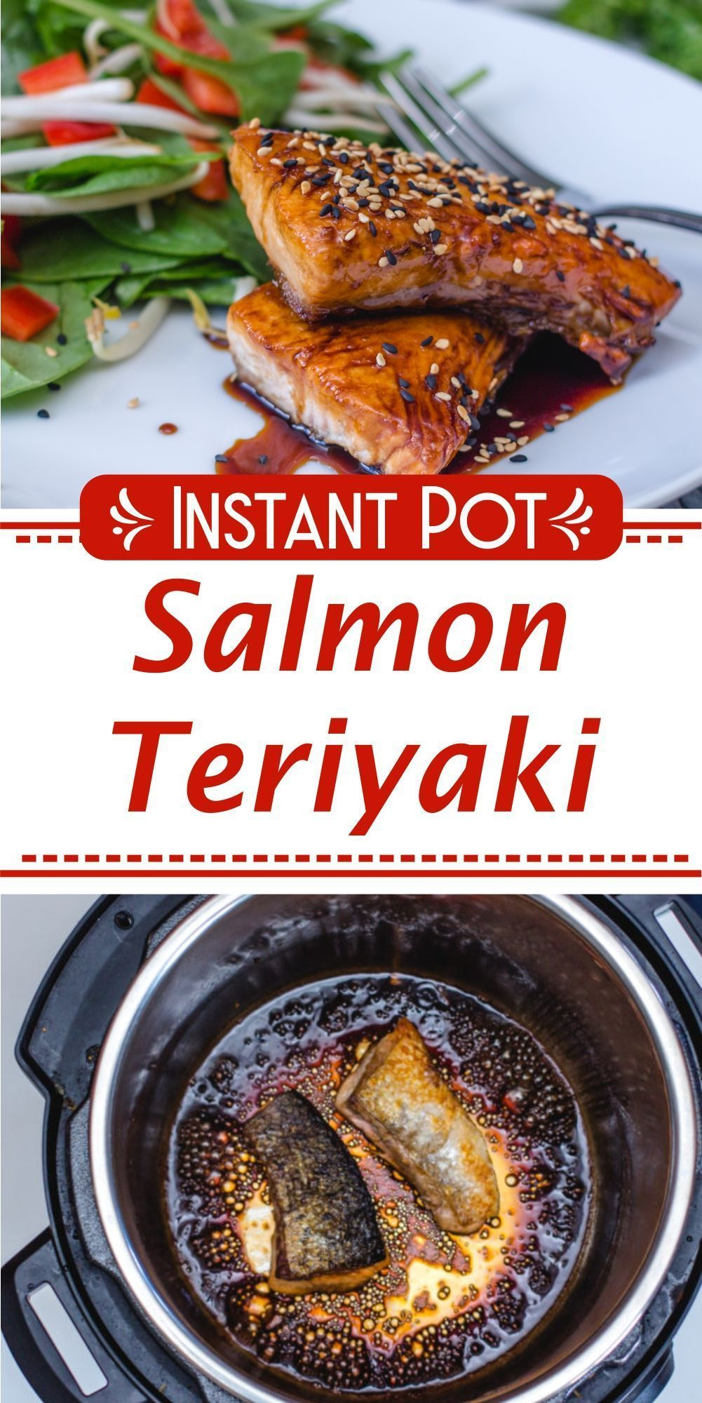 Instant Pot Salmon Teriyaki #salmonteriyaki Instant Pot Salmon Teriyaki | Pressure Cooker Salmon Teriyaki | Slow Cooker Salmon Teriyaki |   Easy Salmon Teriyaki Recipe | Crock Pot Salmon Teriyaki | One Pot Salmon Teriyaki | How To Make Salmon Teriyaki |   Homemade Salmon Teriyaki | Salmon Teriyaki recipe | Instapot Salmon Teriyaki  #dinner #maindish #salmon #teriyaki #instantpot #recipe #corriecooks #salmonteriyaki Instant Pot Salmon Teriyaki #salmonteriyaki Instant Pot Salmon Teriyaki | Pressur #teriyakisalmon
