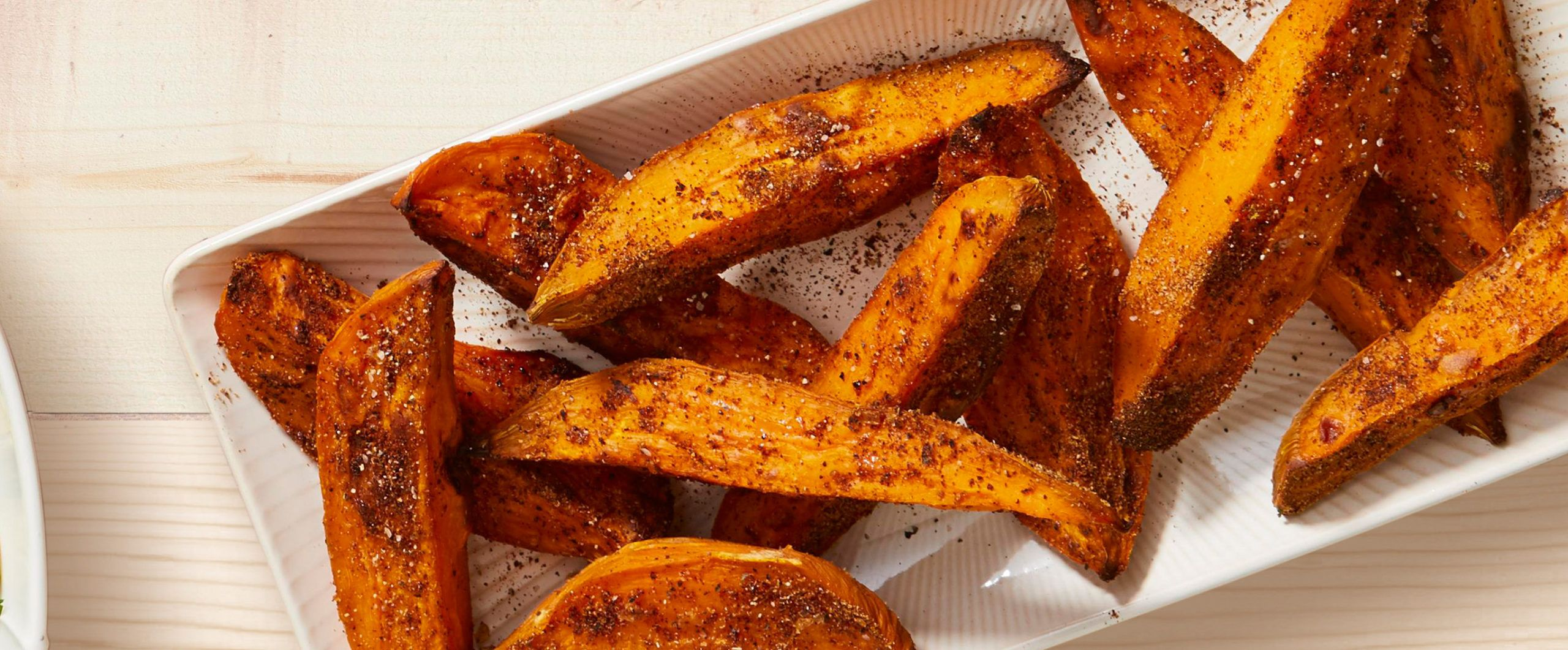 Baked Sweet Potato Pieces
