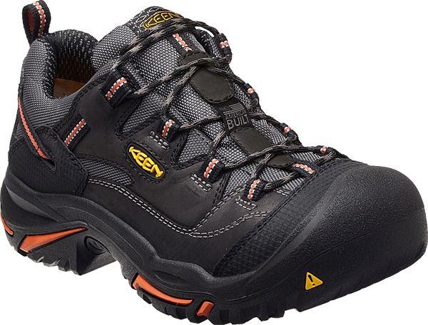393a317abc5 The Braddock Low steel toe shoe is a non-waterproof work shoe ideal ...