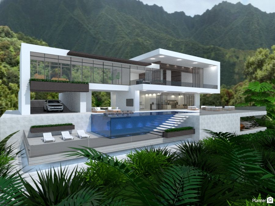 Modern Architecture Planner 5d Interior Design Software Online Home Design Dream House Exterior