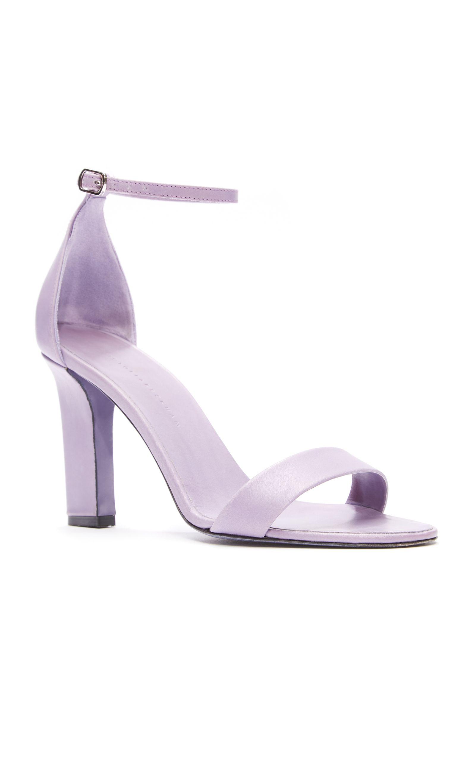 05e131f51032 Victoria Beckham Lavander shoes SS18