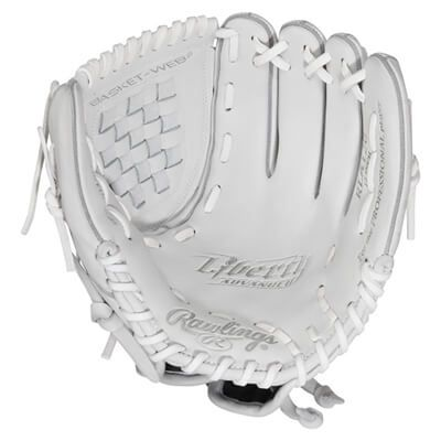 Image Of Rawlings Liberty Advanced 12 Inch Fastpitch Softball Glove Rla120 Softball Gloves Fastpitch Softball Gloves Softball