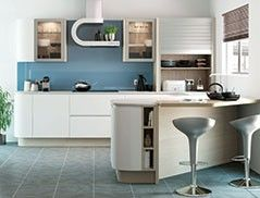 John Lewis Continental Collection Kitchens: Idea For The Extractor Fan