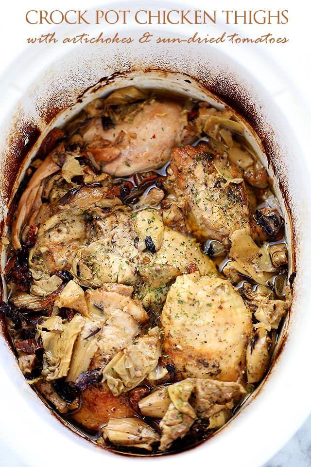 Asian chicken thighs crock pot