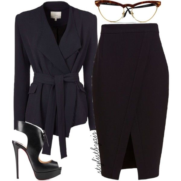 A fashion look from October 2015 featuring IRO blazers, Nicholas skirts y Christian Louboutin pumps. Browse and shop related looks.