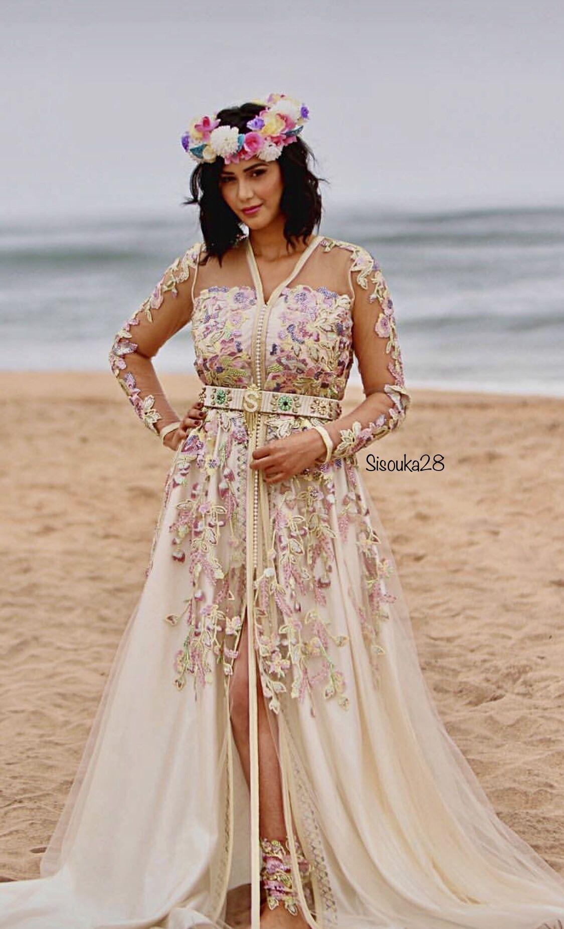 سليمة البوسوني Caftan Dress Moroccan Dress Soiree Dress