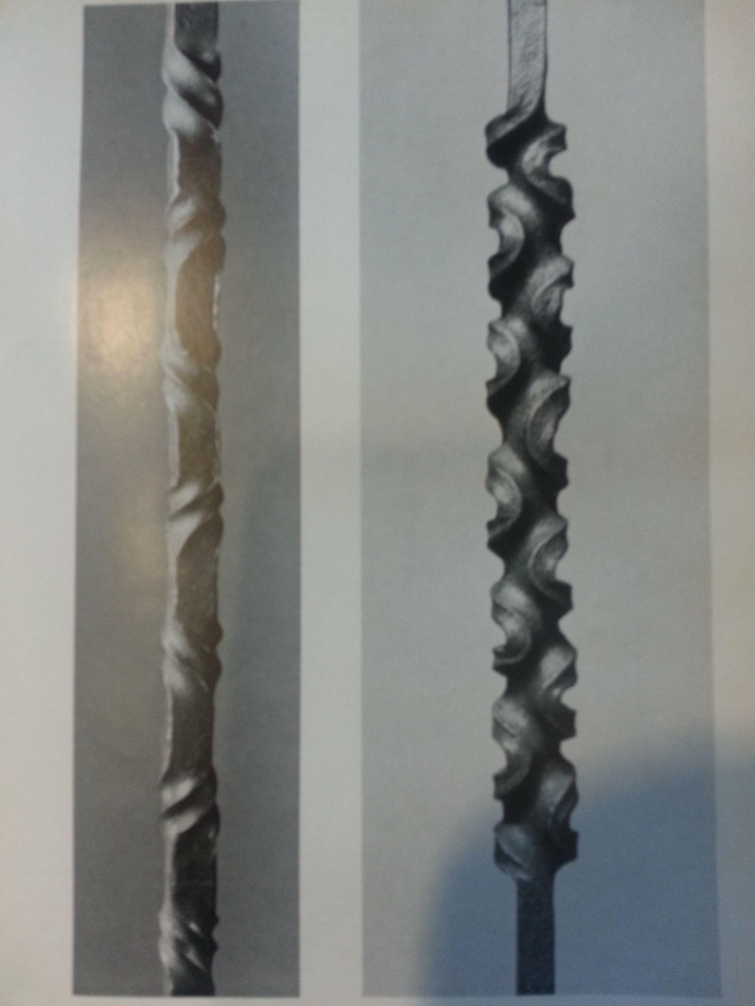 twist in square flat stock by fritz kuhn eisen metall metallskulpturen und skulpturen
