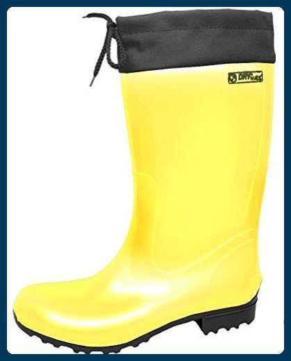 BOCKSTIEGEL - Sara - Damen Gummistiefel - Gelb, Größe:39 - Stiefel für  frauen
