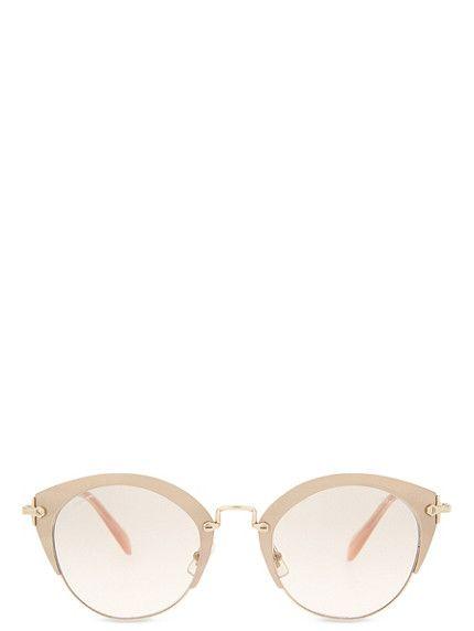 MIU MIU MU53RS Phantos Noir cat-eye sunglasses