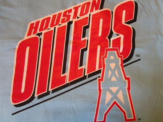 Houston Oilers Shirt. Unworn With Tags. Dead Stock. Vintage T-shirt.  Graphic Tee. Sports Fan. Earl C 320750275