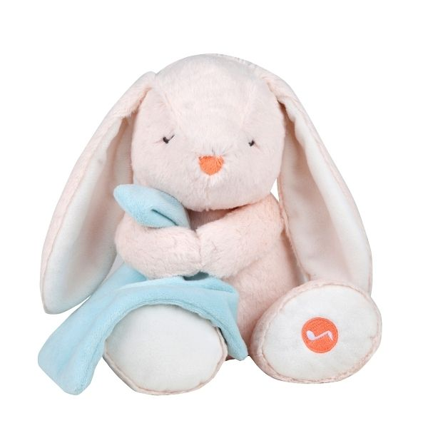 Baby plush toy musical bunny plush bunny lullaby soother plays babies negle Choice Image