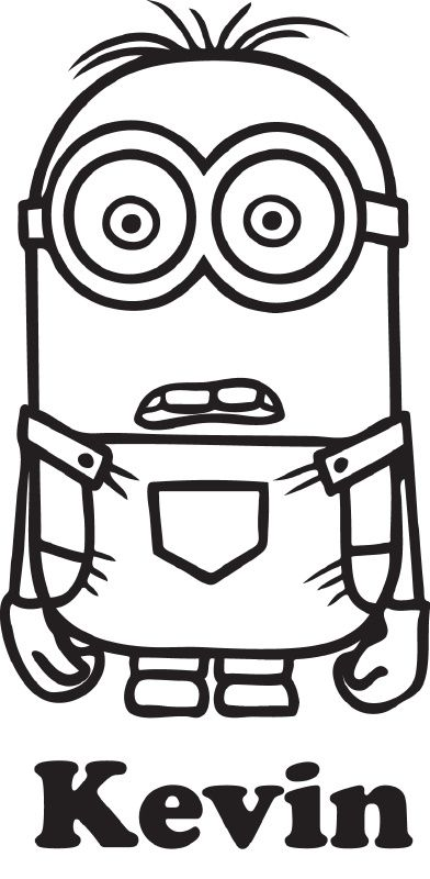 Coloring Pages Wecoloringpage Crayon Minion Naamsticker