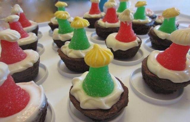 Christmas Trees and Santa Hats! Easy peasy