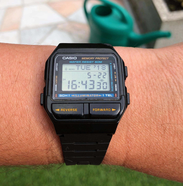 Watches 1501988Vintage In Casio Db 2019 Watch b6f7gy