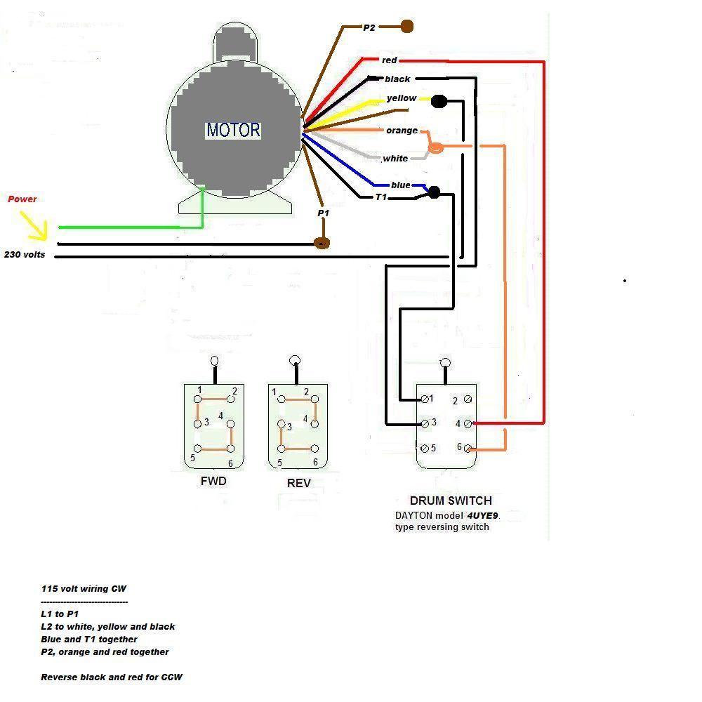 110v ac 3 wire wiring diagram dayton reversible motor wiring diagram wiring diagram dayton reversible motor [ 1000 x 1000 Pixel ]