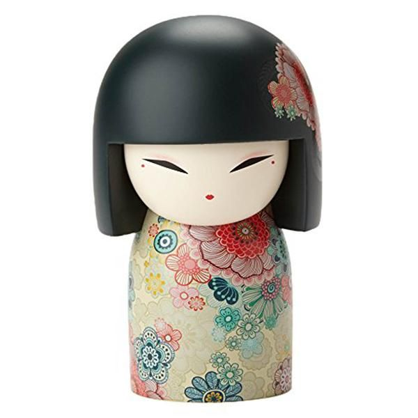 """This is a Kimmidoll Tamako Exquisite Maxi Japanese Doll Figure. Kimmidoll's are fantastic collectible doll figures that are designed to represent traditional Japanese """"true values of life."""" They are w"""