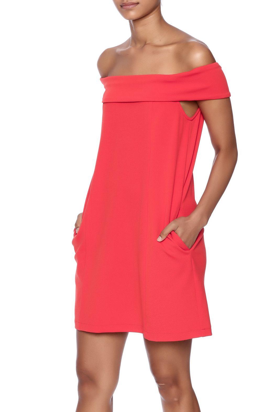 Alexuraw casual coral dress